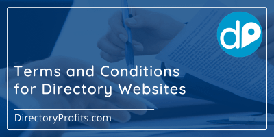 Terms & Conditions for Directory Websites